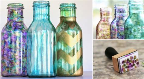 como decorar botellas de vidrio con dulces aprende a decorar botellas de vidrio con este simple