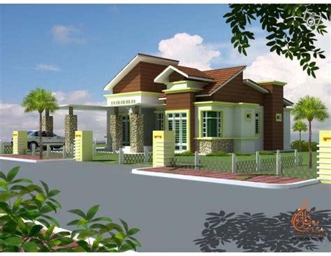 pelan rumah banglo setingkat pics for gt banglo modern