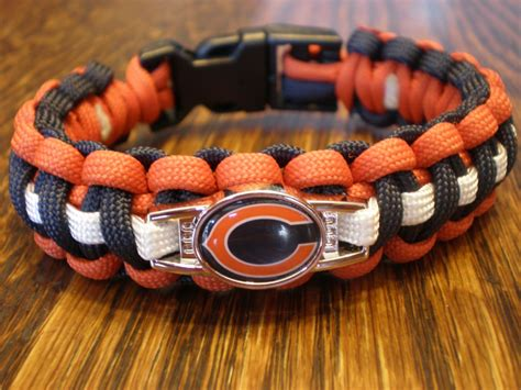 nfl paracord bracelet custom made official nfl licensed