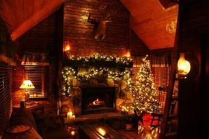 christmas at the cabin photograph by david fosson