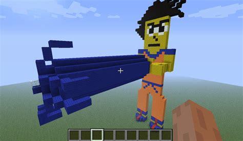 imagenes de goku en minecraft minecraft goku by dbzkid on deviantart