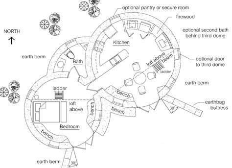 earth house earthbag house plans