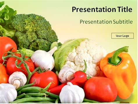 powerpoint templates vegetables free download free nutrition powerpoint templates backgrounds