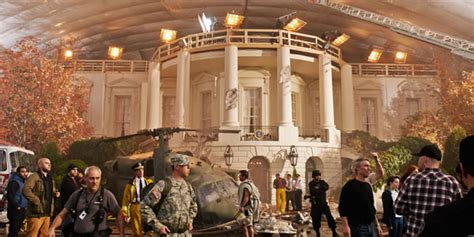 white house down sequel on the set of white house down joining channing tatum on an epic race from script to