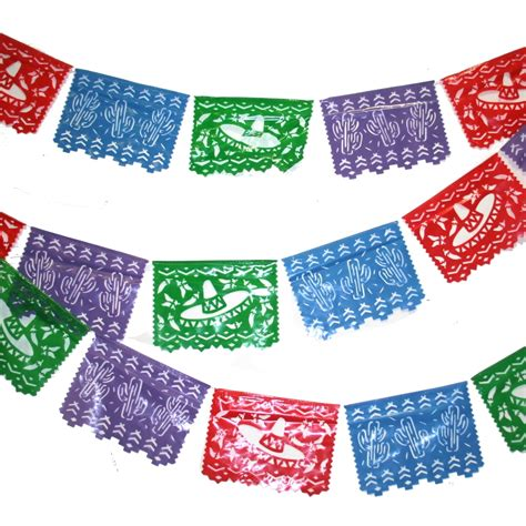 How To Make Mexican Paper Banners - mexican cutout banner
