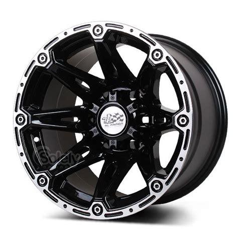 Alloy Sports set of 4 16 quot 6x139 7 black concave 4x4 alloy sport rims