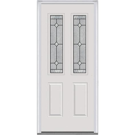 30 X 80 Exterior Door With Window 30 X 80 Front Doors Exterior Doors The Home Depot