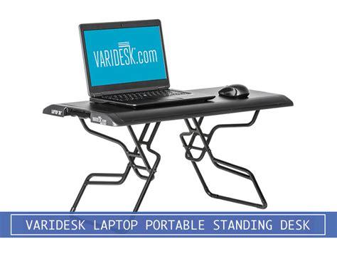varidesk laptop 30 portable stand up desk converter review