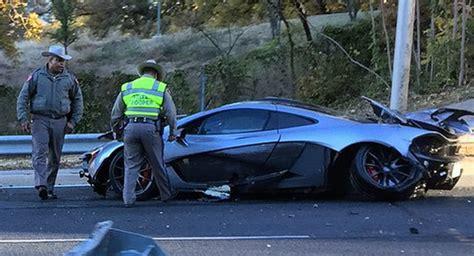 mclaren p1 crash update mclaren p1 owner crashed car less than 24 hours