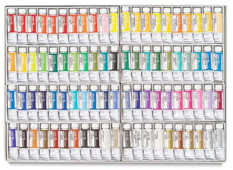 ash blue acryla gouache paints d158 ash blue paint 00812 0849 holbein artists gouache sets blick art