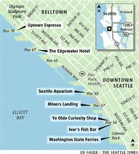 Pier 91 Seattle Map by Map Of Seattle Waterfront Piers Submited Images