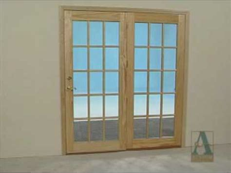 atrium patio doors how to finish paint and stain patio doors