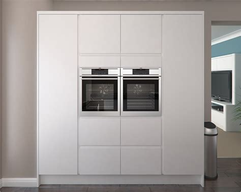 innova luca matt white kitchens units