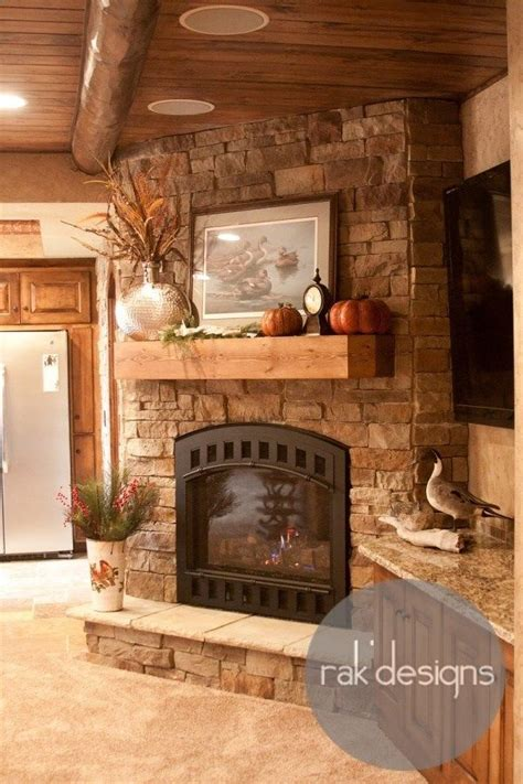 Rustic Corner Fireplace by 1000 Ideas About Corner Fireplace Mantels On