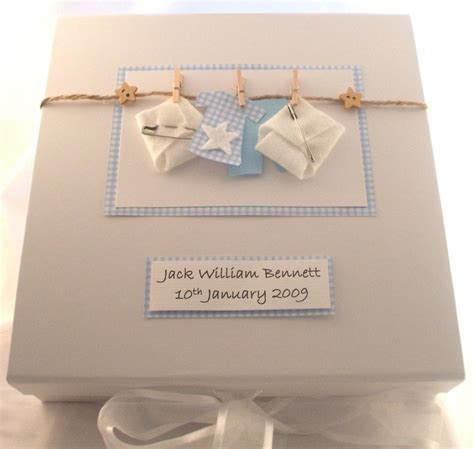 Handmade Baby Keepsake Box - 1000 ideas about baby memory boxes on baby