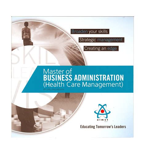 Athabasca Executive Master Of Business Administration Mba by Aimst Promotion Brochure 2016 My Aimst
