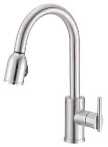 how to replace a single handle kitchen faucet danze d457058 parma single handle pull kitchen faucet