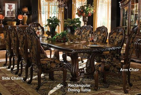 casablanca rectangular dining table