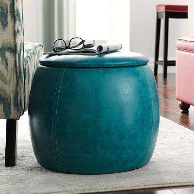 turquoise ottoman storage turquoise storage ottoman for the home pinterest