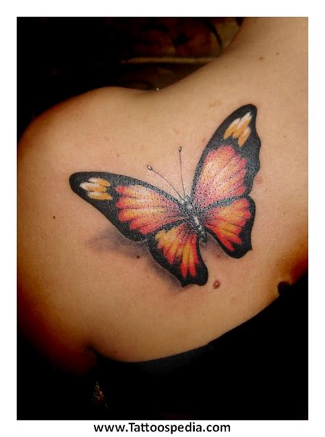 Butterfly Tattoo Realism | realistic butterfly tattoo designs 1
