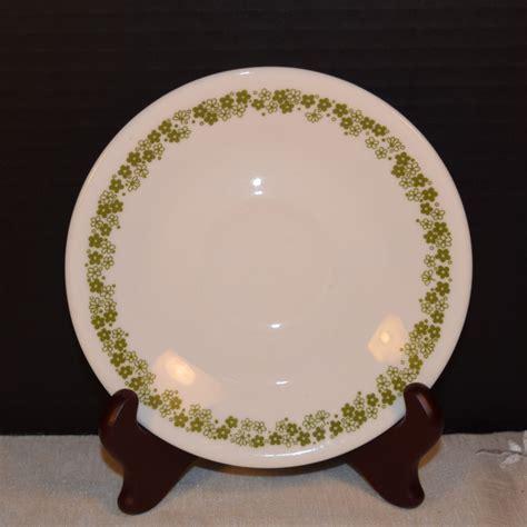 Corelle Flower Pattern | corning corelle saucer spring blossom vintage corelle