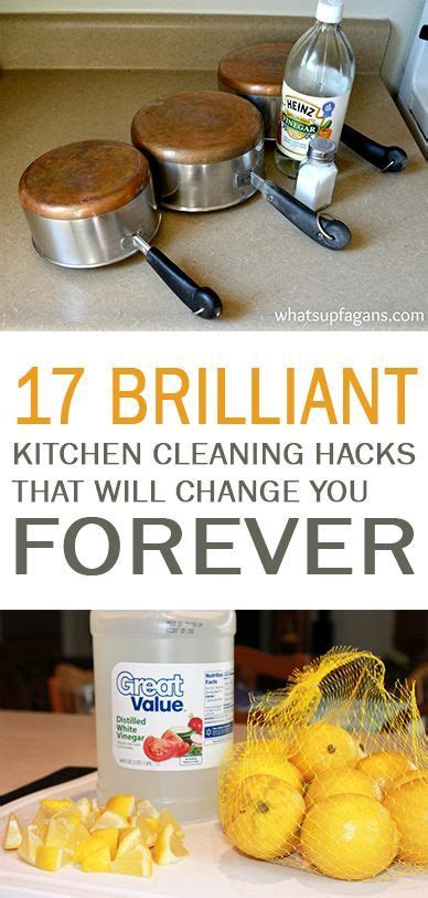 22 kitchen hacks that will change you forever how to 837 best cleaning house images on pinterest cleaning
