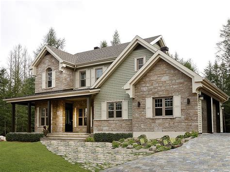 Farmhouse With Attached Garage by European House Plan 76322 See More Ideas About Attached