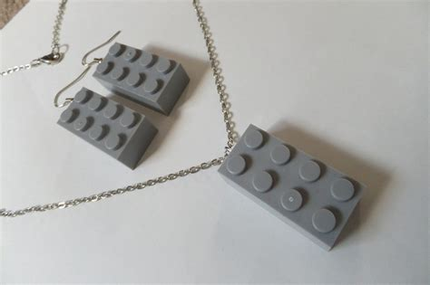 lego necklace tutorial lego earrings necklace 183 a pair of lego earrings
