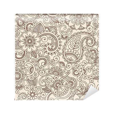 henna design png carta da parati ornato henna paisley pattern doodle vector
