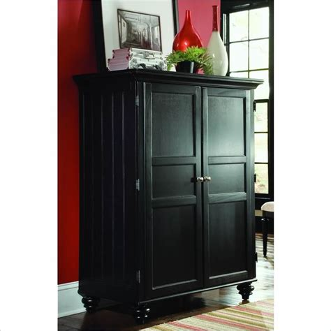 computer armoire black camden black home office cabinet 919 944