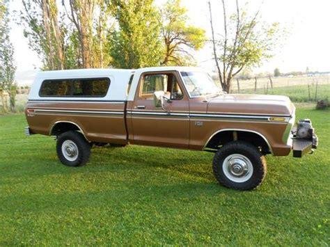 1976 ford f250 highboy for sale find used 1976 ford f250 highboy in richland washington