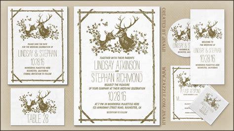 deer wedding invitations read more deer antlers rustic and wedding