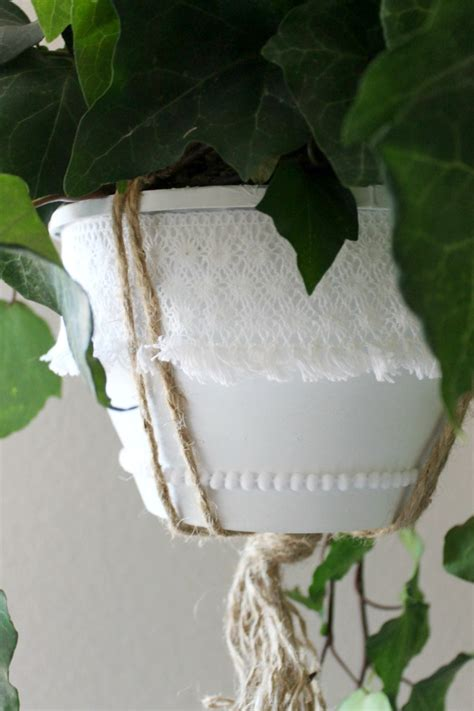 Plastic Hanging Planter by Plastic Nursery Hanging Planter Diy Makeover Child At