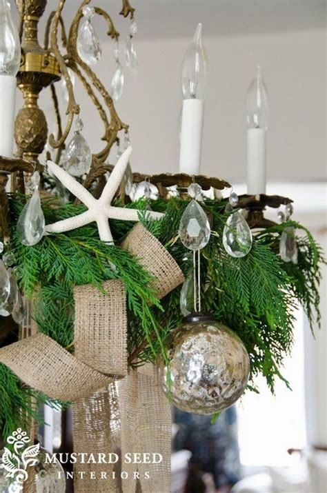 1000 ideas about christmas chandelier decor on pinterest