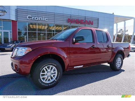 red nissan frontier 2015 cayenne red nissan frontier sv crew cab 99327269