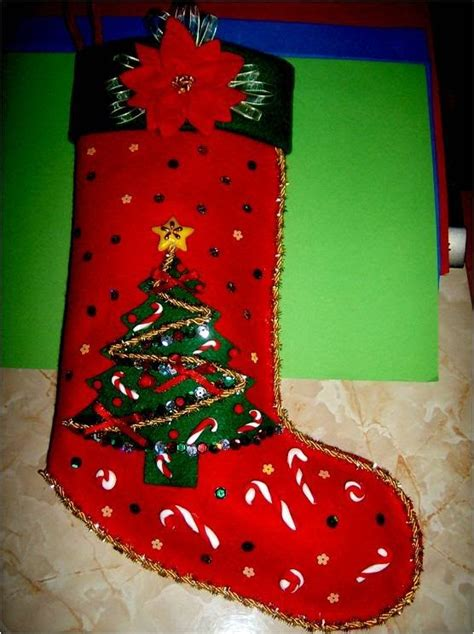 botas de papel para navidad bota navide 241 a con relieves escarchados christmas