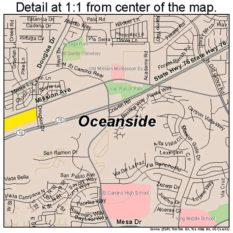 oceanside california map oceanside california map 0653322