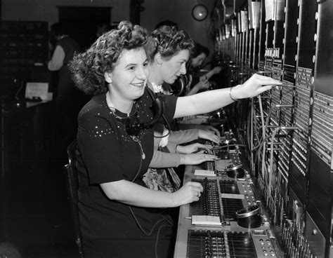 Switchboard Search B C Telephone Switchboard Operators City Of Vancouver Archives