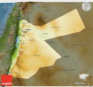 physical 3d map of darken