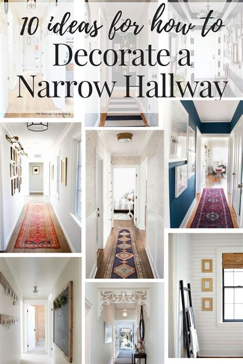 decor  narrow hallway