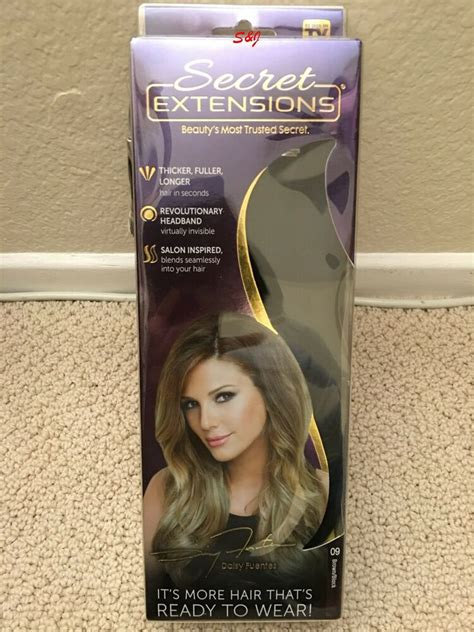 Secret Extensions Hair Colors Secret Extensions Secret Extensions Hair Extensions By 16 Quot Multi Color Ebay