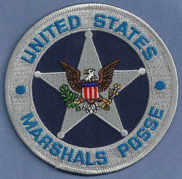 Us Marshal Search United States Marshal Posse Patch
