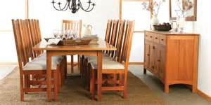 American Made Dining Room Furniture Solid Wood Dining Room Tables Custom Handmade In Usa