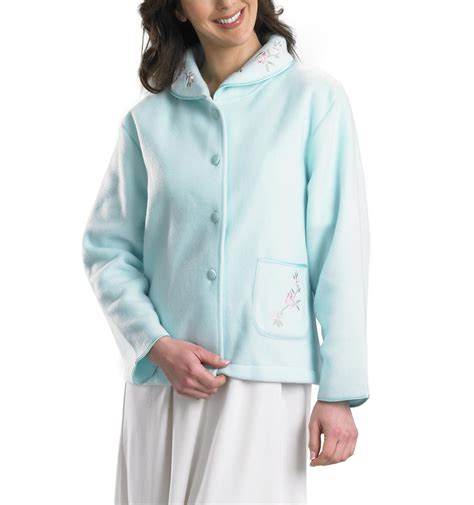 womens bed jacket fleece bed jacket 28 images womens soft waffle fleece