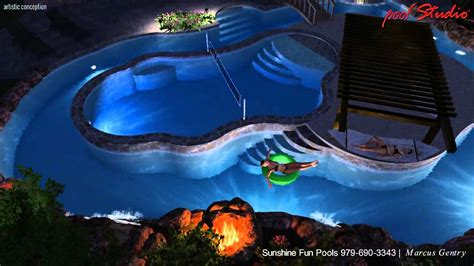 Custom Pools Company College Station Lazy River Backyard Lazy River Pools For Your Backyard