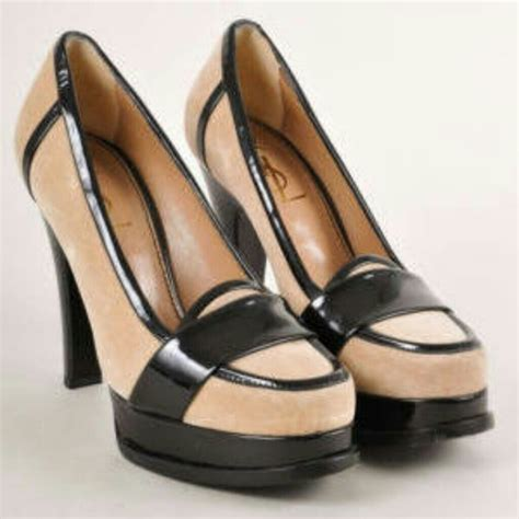 ysl loafers 86 yves laurent shoes ysl heel loafers from