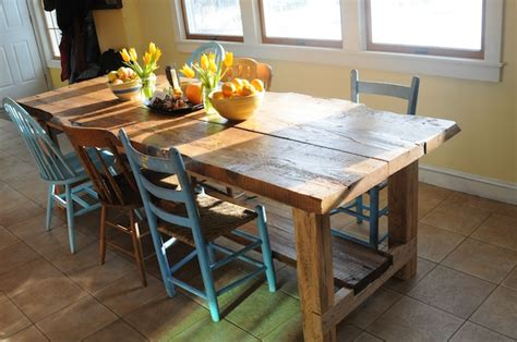 Harvest Kitchen Table Soulemama Our Harvest Table