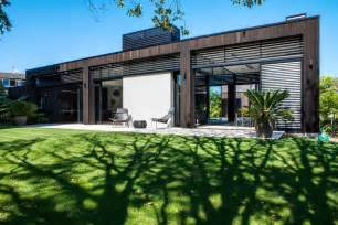 Large Garage Designs Fresh large glass sliding doors modern house in auckland new
