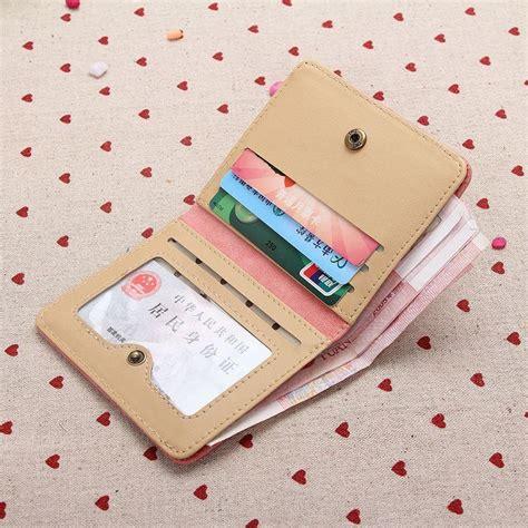Wallet Card Dompet Cewe Dompet Wanita Mini Dompet Kotak dompet retro matte wanita yellow jakartanotebook