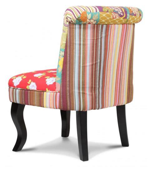 fauteuil toilette fauteuil crapaud patchwork tissa wadiga